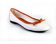 Prestige Fehér-narancssárga bőr
