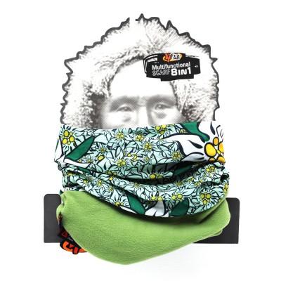 4Fun Edelweiss Green Polartec többfunkciós csősál