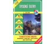 VKU Vysoké Tatry - Magas Tátra turistatérképe