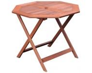 Kerti asztal, nyolcszögletű