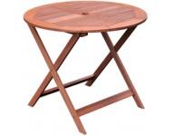 Kerti asztal, kerek