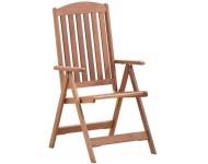 Karfás kerti szék, 5 pozíciós