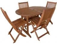 Kerti asztal, ovális