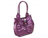 Női táska (méret:23) Pa7349-pur