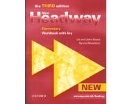 Liz Soars, John Soars, Sylvia Wheeldon: New Headway Elementary - Workbook with key (3rd)