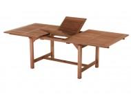 Bővíthatő négyszögletes asztal, 230x110 cm