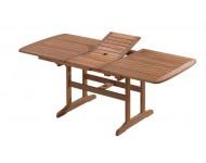 Bővíthető négyszögletes asztal, 200x90 cm