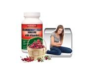 Vörös áfonya (Tőzegáfonya) 5000 mg + C-vitamin kapszula 90 db
